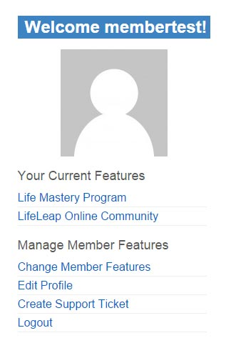 member-menu