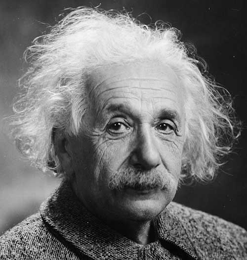 Albert Einstein Head - Intuition Course - Develop Intuition & Psychic Ability. 25 Years Of Research. Attract What You Want In Life
